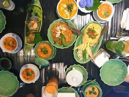 曼谷吃到飽推薦:四面佛茶室