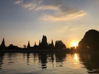 泰國大城日落