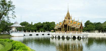 泰國大城景點-邦芭茵夏宮