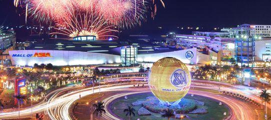 馬尼拉SM mall of Asia