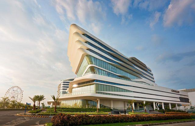 馬尼拉j五星級飯店推薦:康萊德飯店